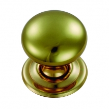32mm Hollow Button Knob Handle - Various Finishes