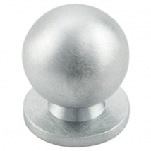 Carlisle Ball Knob Handle - Satin Chrome - Various Sizes