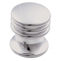 17mm Ringed Knob Handle - Various Finishes