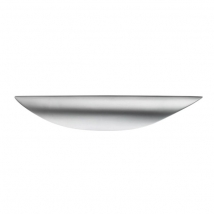 Contemporary Cup Handle - Satin Nickel Finish