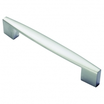 Tapered End Bar Handle - 160mm Hole Distance - Various Finishes