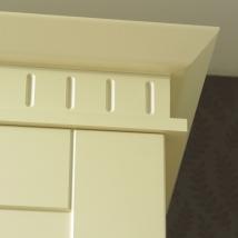 Bella Dental Rail Decorative Moulding