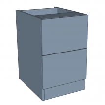 Zurfiz 2 Drawer Bedside Cabinet - 640mm High