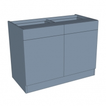 Zurfiz Drawerline Bedroom Cabinet - Double Door & Drawer
