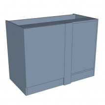 Zurfiz Highline Corner Blank Bedroom Cabinet