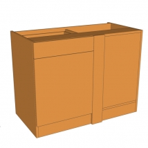 Valore Drawerline Corner Blank Bedroom Cabinet