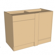 Bella Drawerline Corner Blank Bedroom Cabinet