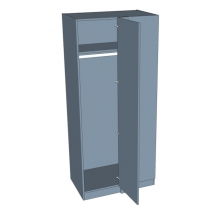 Zurfiz Corner Blank Wardrobe 2260mm High