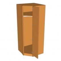 Valore Corner Diagonal Wardrobe 2260mm High