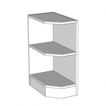 Open Shelf Unit 300mm Wide - Bedroom - Various Heights