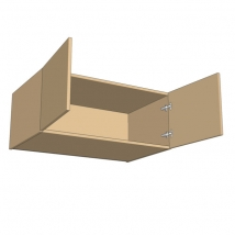 Bella Double Top Box 420mm High