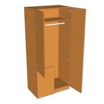 Valore Corner Stable Wardrobe 2260mm High
