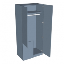 Zurfiz Corner Stable Wardrobe 2260mm High