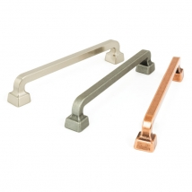 HAFELE Brera D Pull Handle - 160mm Hole Distance - Various Finishes