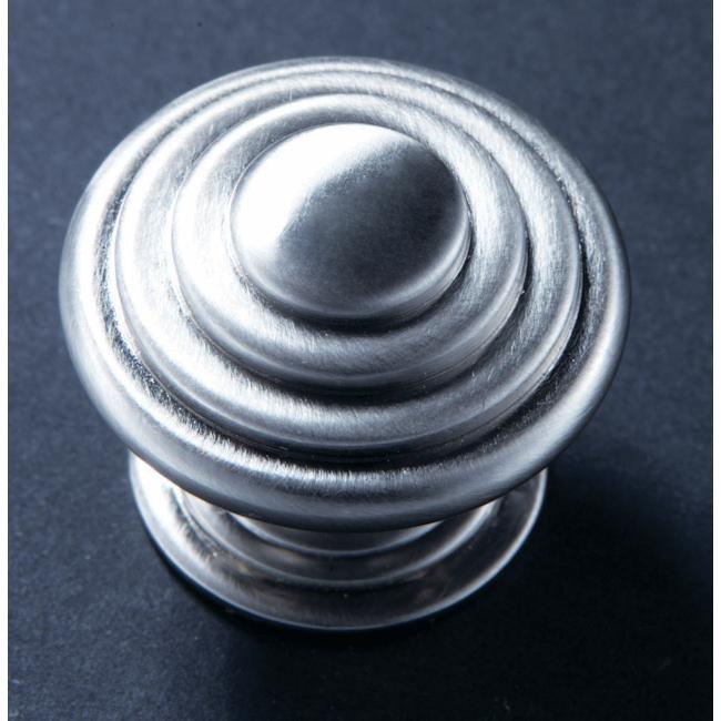 35mm Stepped Knob - Satin Chrome Finish