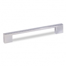 Spey Square Bar D Handle - Bright Chrome Finish