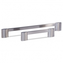 Dewent Oval End Slim Handle - Stainless Steel Finish