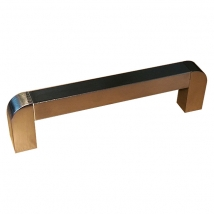 Aire Bar Rail Handle - Stainless Steel Finish