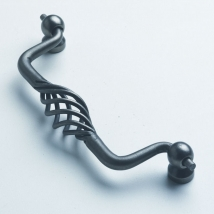 Cage Drawer Pull Handle - Pewter
