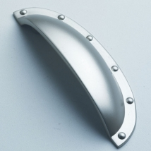 Shell Handle - Satin Nickel
