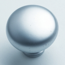32mm Round Knob Handle - Satin Chrome Finish