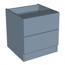 Zurfiz Bedroom Drawer Chest 2 Drawer - 540mm High